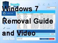 Remove Security Shield Windows 7